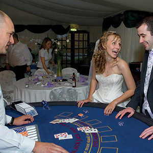 Glasgow Fun Casino Wedding